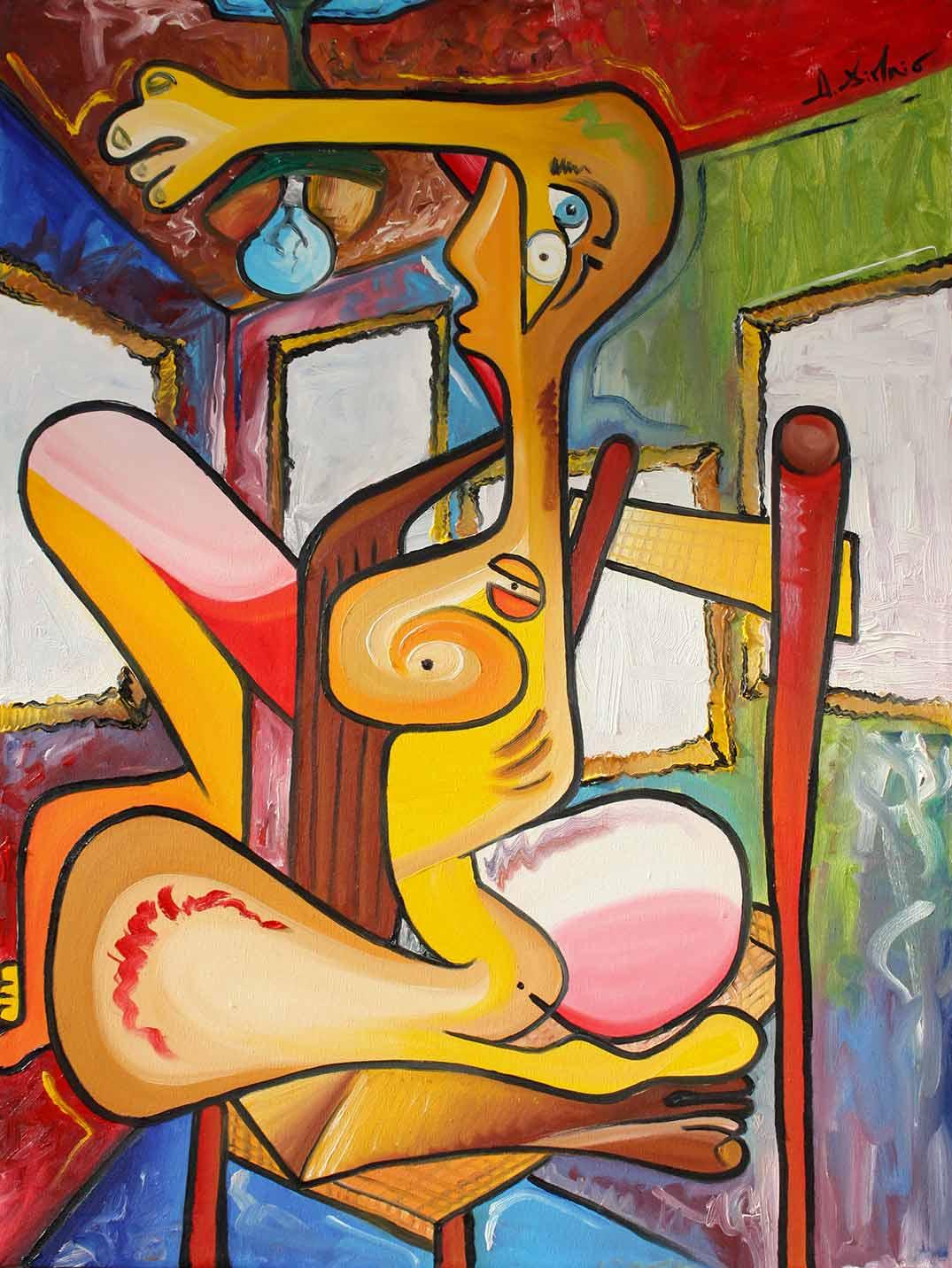 Alessandro Di Maio | Oil on canvas 60x80cm